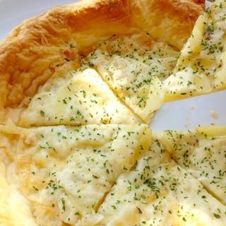 食感が楽しい♪手作りピザも必食!