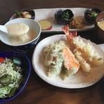 カフェ ド 神楽 - 天ぷら膳
