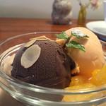 カフェ マリオ - 160527 チョコ・メロン