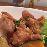 カフェ マリオ - 160527 若鶏の揚げ焼き