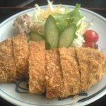 和風レストラン 菜心味 - 料理写真:300gのトンカツ
