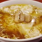 中華料理 太一 - チャーシューワンタンメン
