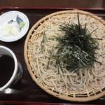 奥藤本店 甲府駅前店 - ざる 680円 (2016.4)
