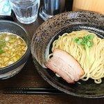 51505990 - 麺処 さとう @本蓮沼 濃厚魚介豚骨つけ麺 750円(税込)普通盛り 200g
