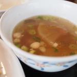 タイ田舎料理 クンヤー - セットのスープ