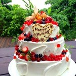カフェグリーングリーン - Wedding cake♪