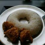 日の本カレー - 日の本カレー(若鶏からあげ)ご飯大盛