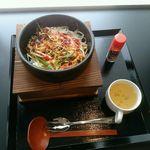 日の本カレー - 石焼きビビンバ 650円