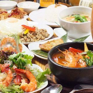 タイ人シェフの作る本格タイ料理
