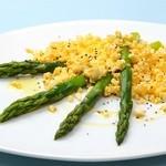 ラ・ベルデ - 【Summer Party Plan】グリーンアスパラのゆで卵ソース