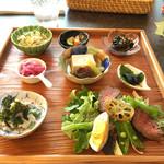 Cafe Samanala Garden - 旬のお野菜たっぷりランチ1700円