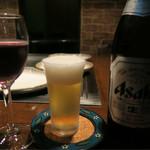 レストランブルンネン - ビールで乾杯です