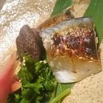 51515351 - 鯖の塩麹漬け焼き