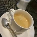 ビストロ ヌー - 食後のホットコーヒー