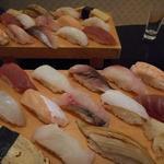 二半亭 - 料理写真:にぎり寿司