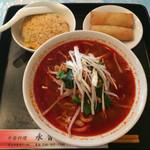 中華料理永香閣 - 麻辣刀削麺セット