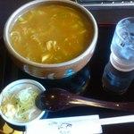 萬蔵そば 尾張屋 - 料理写真:カレー南蛮