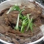おおーい北海道 - ジンギスカン丼(780円)です。