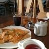 キナリカフェ+ザッカ - 料理写真:ガレット 海老トマトクリームソース