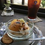 カフェ シズク - 豆乳レアチーズ