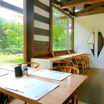 小来川 山帰来 - 自然を見ながら、美味しいそばを食べれます♪