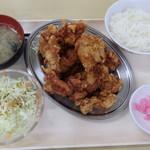 札幌市南区役所食堂 - 料理写真:2016年5月 メガザンタレ定食 490円