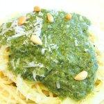 la Brianza - パスタランチ 1100円 のリグーリア風 バジルペーストのスパゲッティ