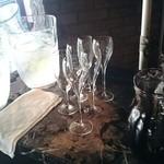 ベルガモ - ドリンクバーはワインもあり