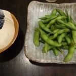 宇奈とと - 枝豆350円