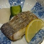 すし馨 - 太刀魚塩焼き
