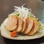 手繰りや 玄治 - おつまみ鶏チャーシュー