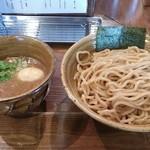 51526362 - 味玉入 ベジポタつけ麺(大盛)