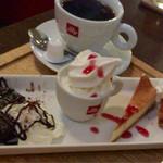 curry cafe SABURO - スペシャルデザートとコーヒー