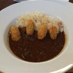 curry cafe SABURO - カレー+カキフライトッピング