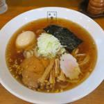 麺匠 玄龍 - 中華そば(柚子入り)700円+味玉100円の味玉