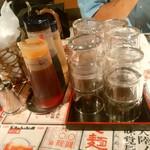 陳麻家 - 【2016.5.27(金)】テーブルにある調味料