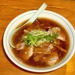 井の頭ナムチャイ - 平日ランチタイム専用メニュー『井の頭日和』。佐野ラーメンをベースにした独特の味わい。