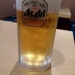 食通 ゆたか - 生ビール