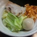 51533624 - 四種の魚のつけめん 麺(16-05)