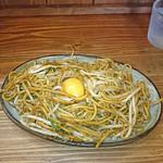 まるひ屋 - 焼きそば(並)+生卵