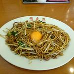 想夫恋 - 焼きそば(並)+生卵