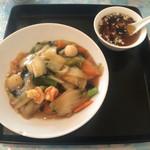 中華料理永香閣 - 五目焼きそば
