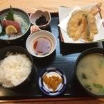 魚大将 - 海鮮御膳 1100円