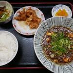 さいか亭 - ランチ:麻婆豆腐定食(950円)