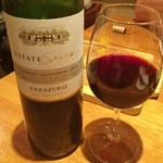 なんばワイン酒場 バルミチェ - 赤ワイン2本目