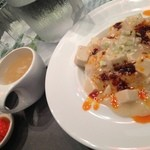 kawaramachibambi - 白い麻婆丼ランチ