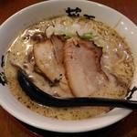 らー麺 藤平 - 藤平らー麺(大盛)