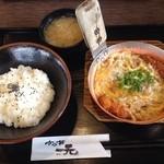 51538503 - かつとじ丼 並 +豚汁