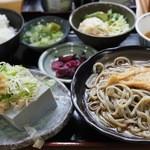 そば処 大正庵 - 夙川豆腐定食