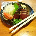 本池澤 - 本池澤 ひろめ市場店(生鰹タタキ)